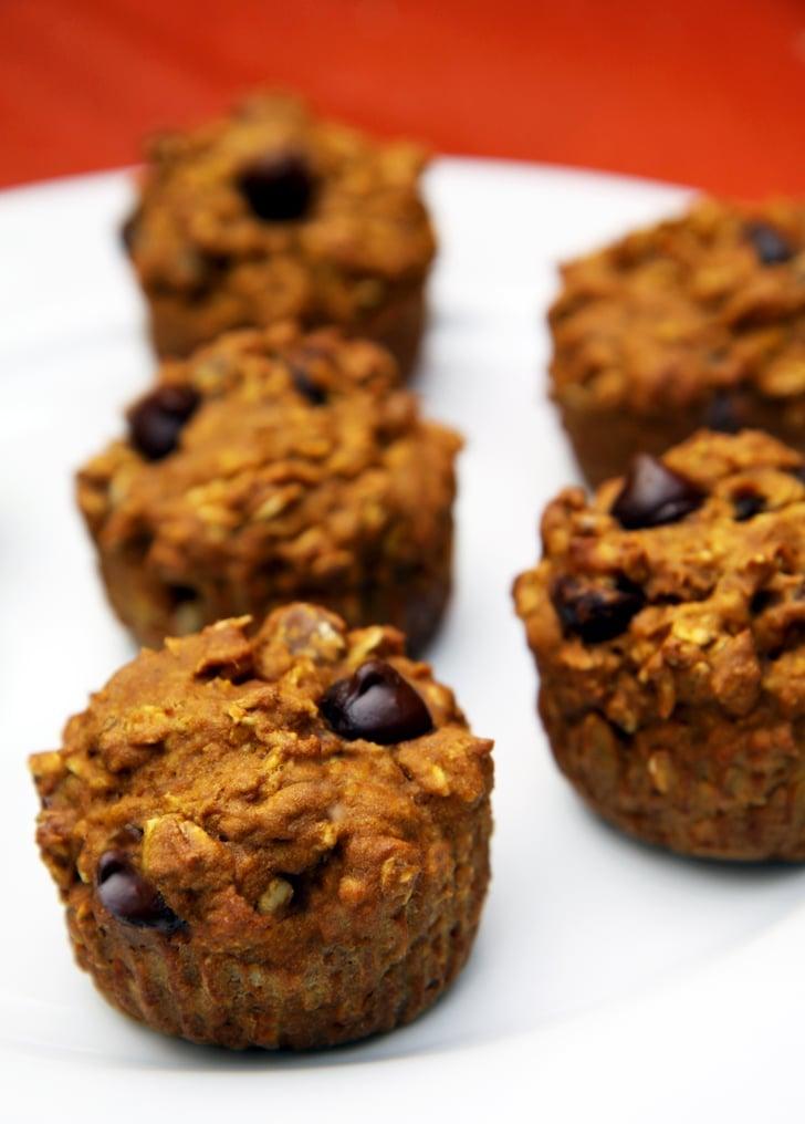 Chocolate Chip Pumpkin Muffines