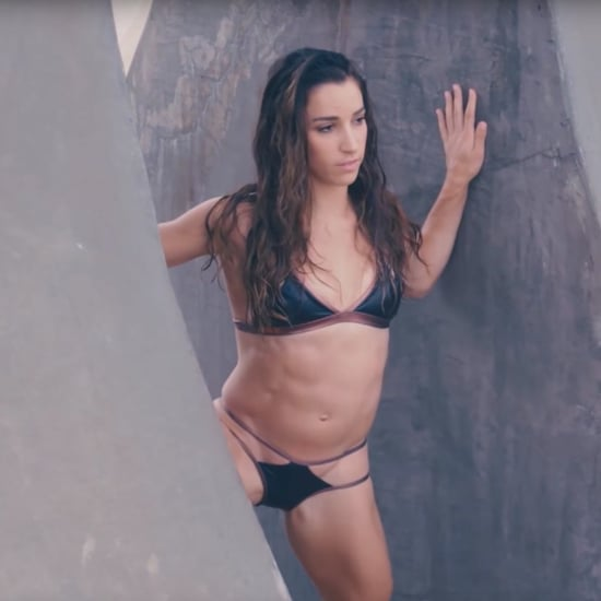 Aly Raisman and Simone Biles For SI Swimsuit 2017