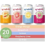 Spindrift Sparkling Water Four Flavour Variety Pack