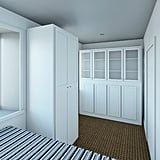 With built-in storage, the sleeping areas in each apartment are perfect for keeping organized, despite the tiny space.