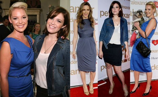 Photos of Katherine Heigl, Mandy Moore, Alicia Silverstone at Peter Alexander Boutique Grand Opening