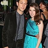 Joseph Gordon-Levitt and Anna Kendrick got close at Toronto Film Festival's 50/50 premiere party.