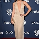 Vanessa Hudgens at the InStyle Golden Globes Afterparty