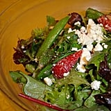 Strawberry, Feta, and Snap Pea Salad