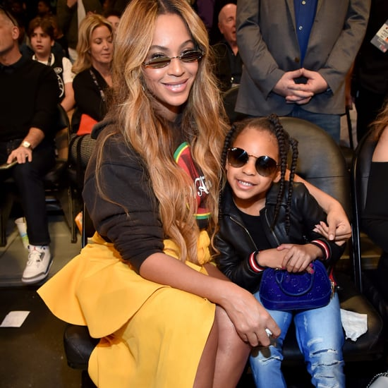 Blue Ivy's Blue Louis Vuitton Bag