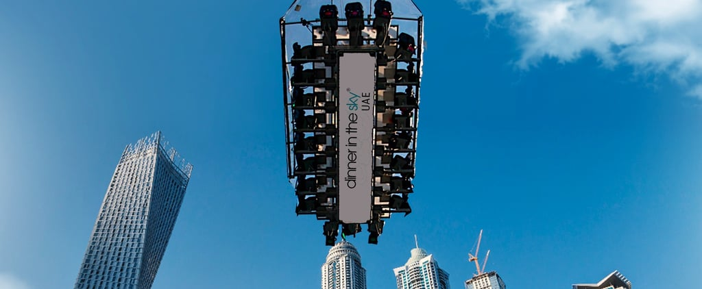 I Ate Breakfast While Dangling 50 Meters Above the Dubai Marina – Here's What Happened