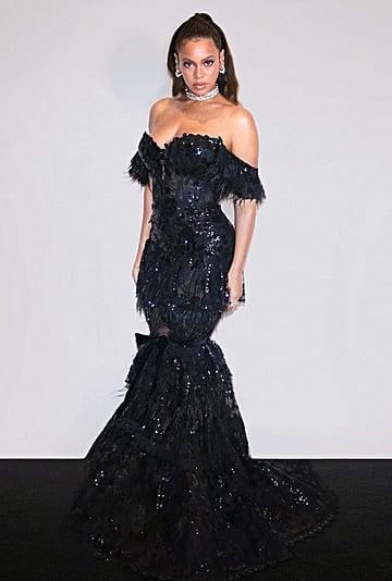 Beyonce's Black Nedo Dress at a Tidal Dinner September 2019