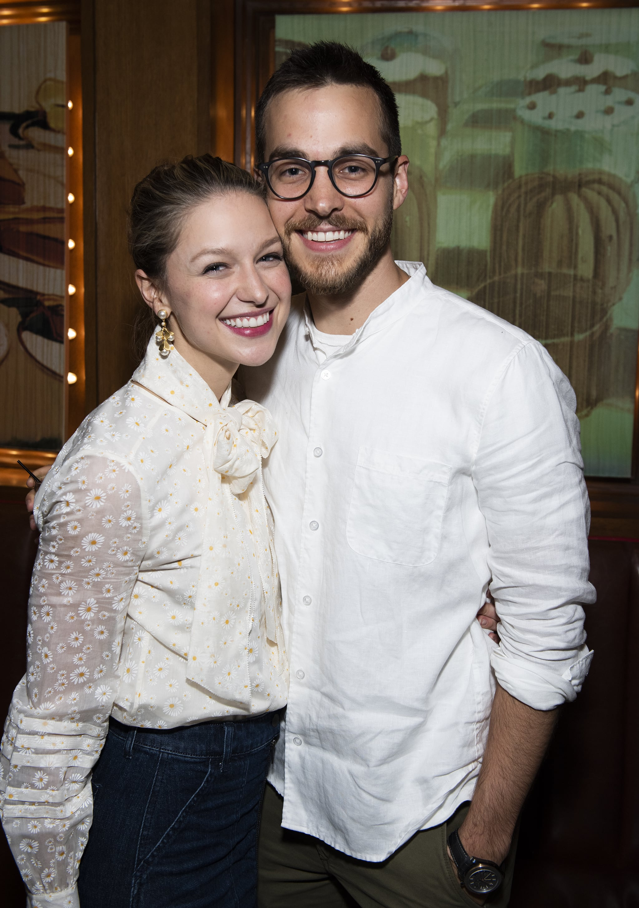 Supergirl Costars Chris Wood and Melissa Benoist Are Married
