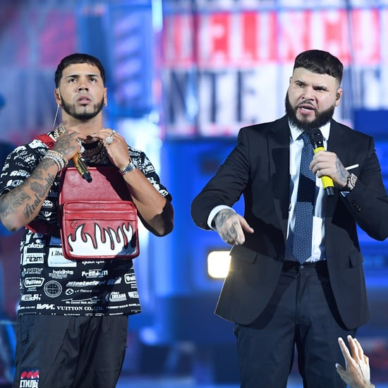 Anuel, Farruko Premios Juventud Performance and Speech