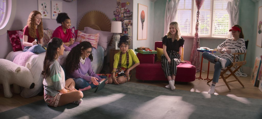 """The Baby-Sitters Club is back! Netflix announced that Stoneybrook's dependable group of friends are returning for a second season with eight episodes on Oct. 11. Momona Tamada, Shay Rudolph, Sophie Grace, and Malia Baker will return, with Kyndra Sanchez, Vivian Watson, and Anais Lee as new additions. Sanchez will replace Xochitl Gomez as Dawn after Gomez left the series due to a scheduling conflict with Doctor Strange 2. Watson and Lee will play Mallory Pike and Jessi Ramsey.  Series creator and executive producer Rachel Shukert shed some light on what to expect from season two. """"There are two new members, they're all a year older and have more experience running a business, deeper friendships, and are growing into a deeper understanding of themselves as people,"""" she said. """"We also wanted to continue exploring themes that allow all young viewers to see themselves represented on screen, while also dealing obliquely with many of the things we've all been through in the past year: loss, change, responsibility, and trying to find joy and meaning in unexpected places.""""  We're excited to see what the sitters are up to next! Although the plot is still under wraps, check out the photos ahead to get a glimpse of season two's adventures. Oct. 11 can't come fast enough.       Related:                                                                                                           10 New Netflix Documentaries Ready to Entertain and Educate This September"""