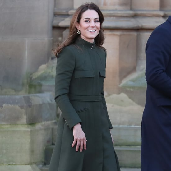 Kate Middleton Wears a Zara Dress Under Her McQueen Coat