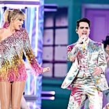 Taylor Swift Billboard Music Awards Rainbow Fringe Dress