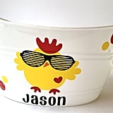 Baby Chick in Sunglasses Easter Basket