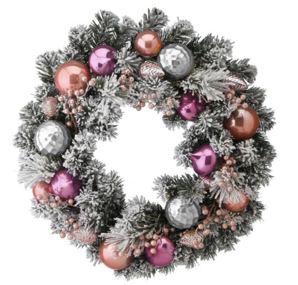 These Pink Holiday Wreaths Will Make Your Decor Stand Out