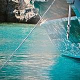 الإبحار في قارب