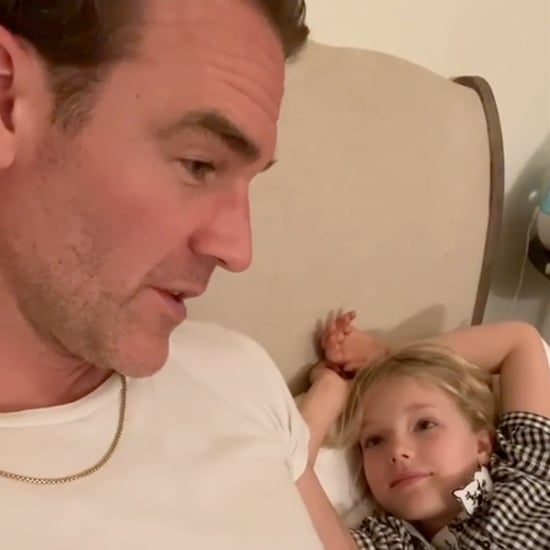 James Van Der Beek Explains Dawson's Creek to Daughter
