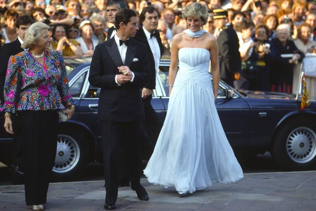 Princess Diana's Catherine Walker Gown