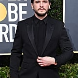 Kit Harington at the Golden Globes 2020