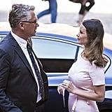 Princess Sofia Wears Paule Ka Dress June 2016