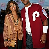 Eva Mendes posed with Will Smith on the red carpet at the 2004 show.