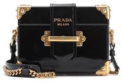 e30545ddb058 Prada Cahier Patent Leather Shoulder Bag | Prada Cahier Bag Trend ...