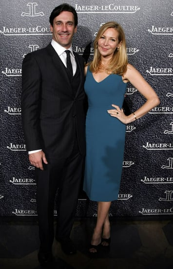 Jon Hamm and Jennifer Westfeldt at Jaeger-LeCoultre Watch Event in New York