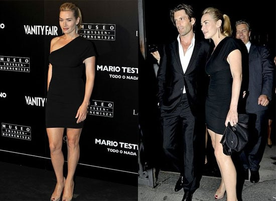 Kate Winslet and New Boyfriend Louis Dowler in Spain