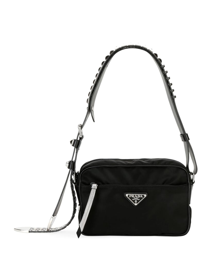 Prada Prada Black Nylon Shoulder Bag  b68c7a3a99029