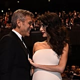 George and Amal Clooney at Cesar Film Awards February 2017