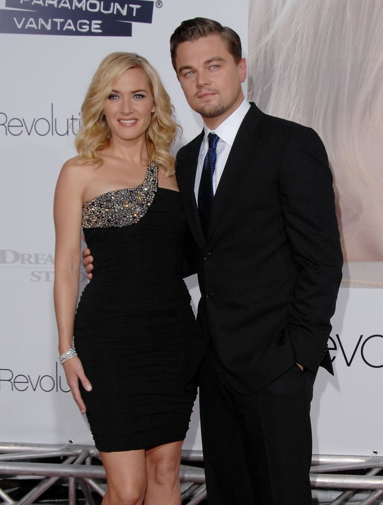 """They showed off their goofy friendship with a few funny moments during the Revolutionary Road press tour. During an appearance on the Today show, Kate joked about how much they've changed since Titanic: """"Well, I think I can speak for both of us: we have a lot more wrinkles. Don't we, darling? I'm proud of him, though. I can't say that you're taller, because you were always tall. He's a man now; look at him — he's just bigger. Physically you aren't that different; you're just less puny.""""  Leo returned the love in a more serious way: """"She's still as beautiful and radiant as the day I met her. She is the consummate professional; she keeps pushing herself to an emotional truth when she's working. That's why I keep saying she's the best."""""""