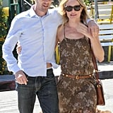 Kate Bosworth and Michael Polish both sported shades in Beverly Hills.