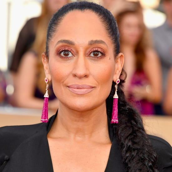 Tracee Ellis Ross Hair and Makeup at the SAG Awards 2017