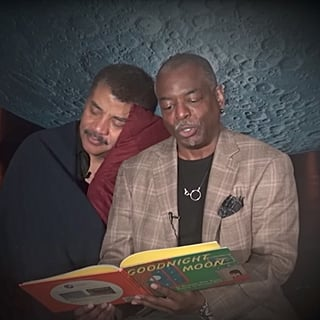 LeVar Burton Reading Goodnight Moon to Neil deGrasse Tyson Is as Awesome as You'd Expect