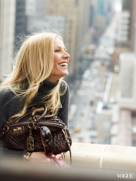 See Gwyneth Paltrow's Coach Ads
