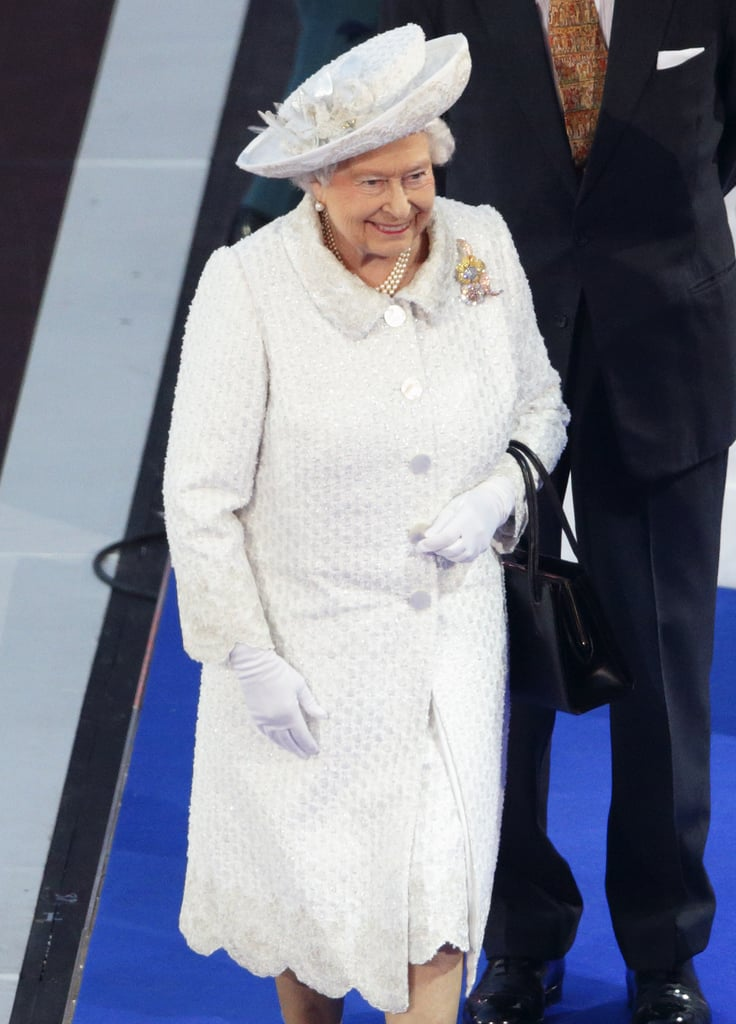 Looking Superchic in All White at the Commonwealth Games