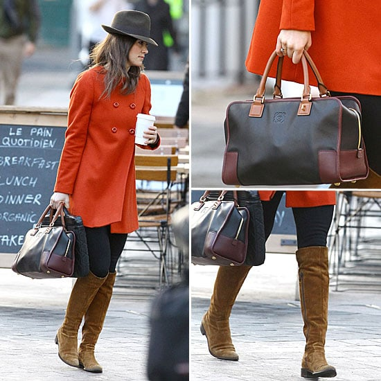 Pippa Middleton Orange Coat