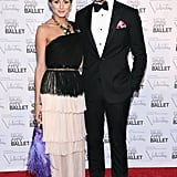 The couple looked like a scene from the stage at the New York City Ballet Fall Gala in 2012.