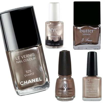 Five of the Best: Mink Coloured Metallic Nail Polish