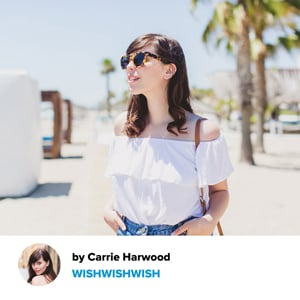 Carrie from Wishwishwish revisits the Bardot Neckline