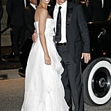 Matthew and Camila got glamorous for a September 2008 event in Milan, Italy.