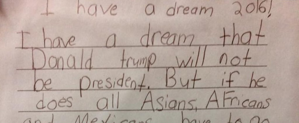 This Third Grader Just Dissed Donald Trump For President With Netflix and Chill Logic