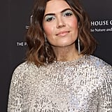 Mandy Moore's Silver Sequinned Dress