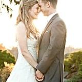Outdoor Sunset Wedding