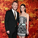 Pictured: Lydia Hearst and Chris Hardwick