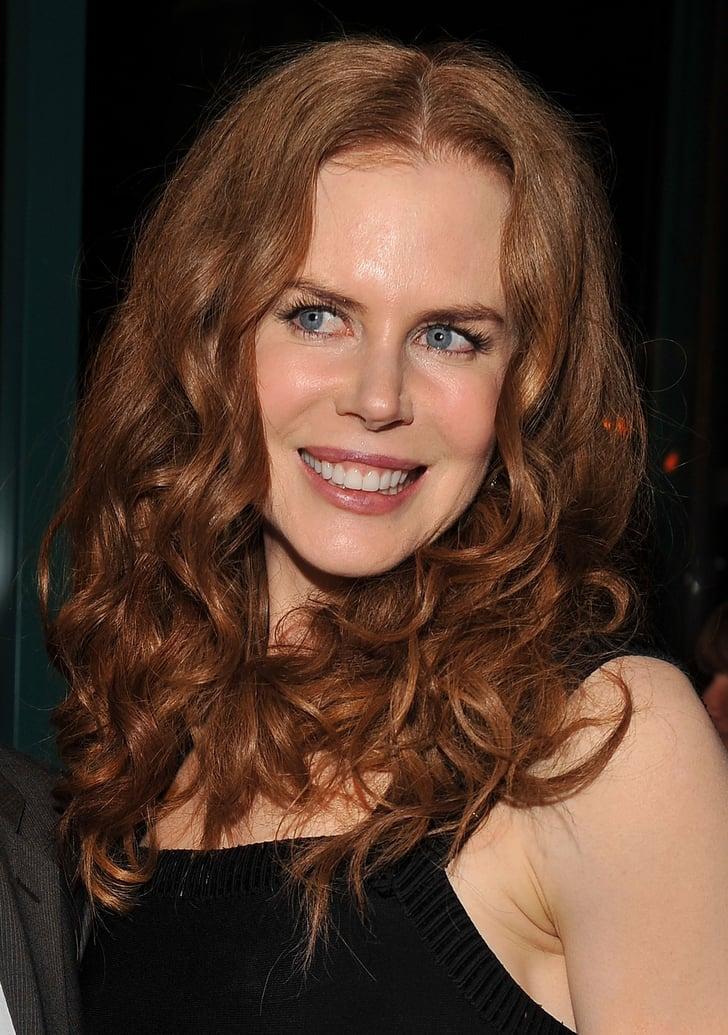 Nicole Kidman With Red, Curly Hair | Nicole Kidman's ...