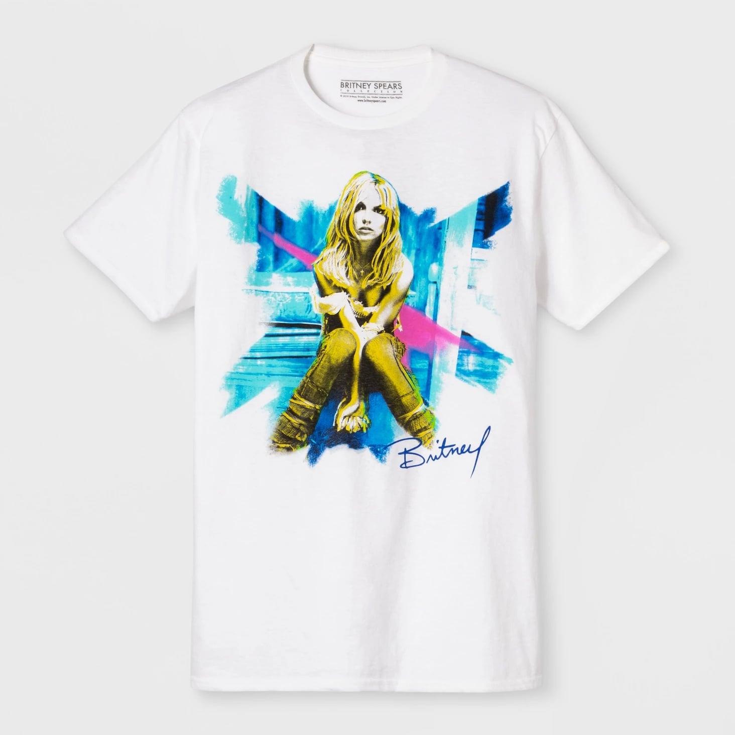 Short-Sleeve-Britney-Spears-Crew-T-Shirt