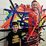 When Kids Duct Taped Their Principal to a Wall For a Good Cause