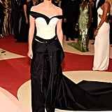 Emma Watson Wearing Calvin Klein at the Met Gala 2016