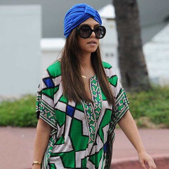 Celebrities Wearing Turbans Popsugar Fashion