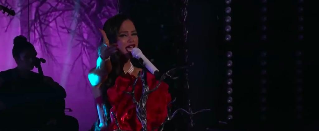 """Natti Natasha """"Me Estás Matando"""" at Premio Lo Nuestro"""
